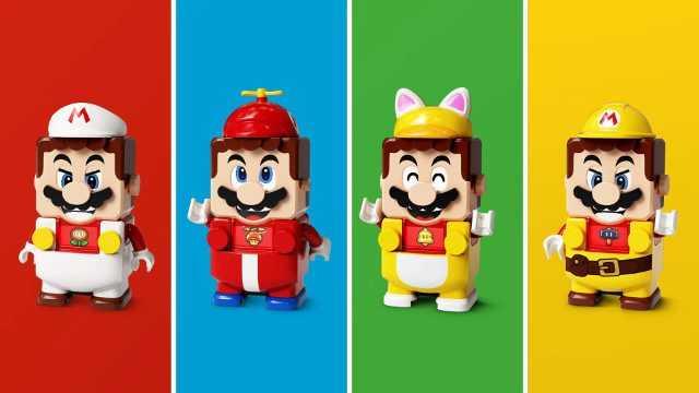 Lego Super Mario Power-Up Packs assortment