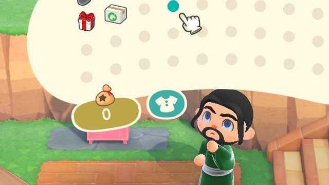Animal Crossing present glitch inventory