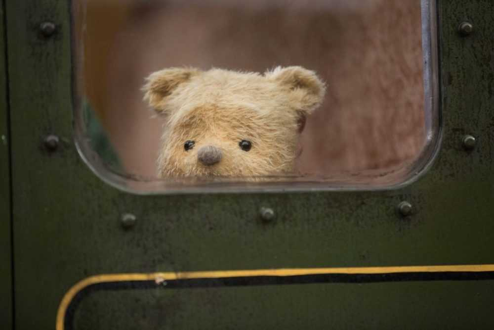 Winnie the Pooh in Disney's live-action adventure CHRISTOPHER ROBIN