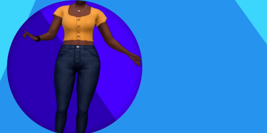The adult clothing included in the Sims' Anniversary Update.