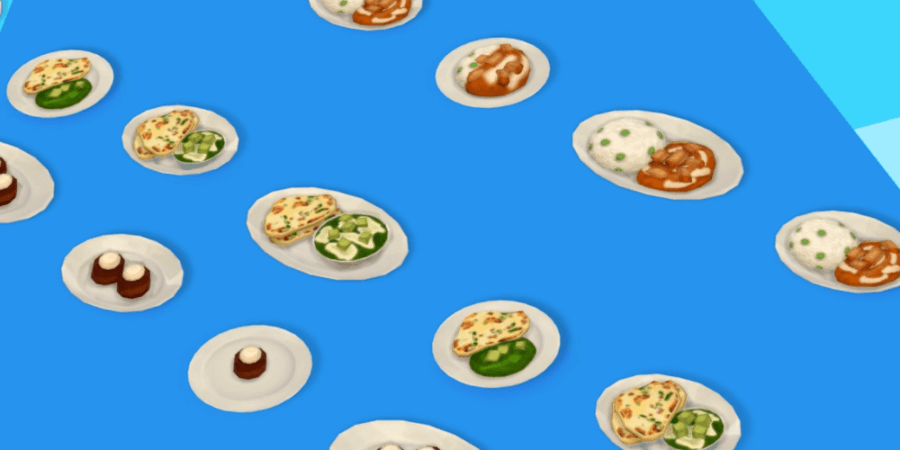 The food included in the Sims' Anniversary Update.