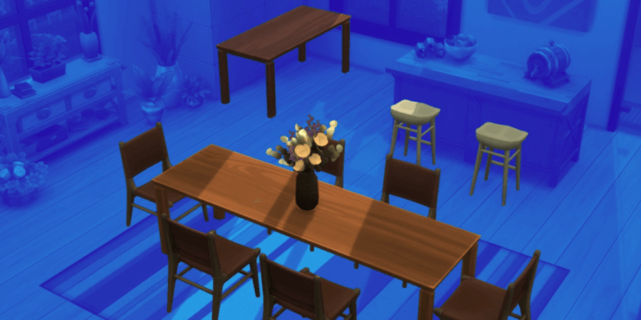 The food set included in the Sims Anniversary Update.