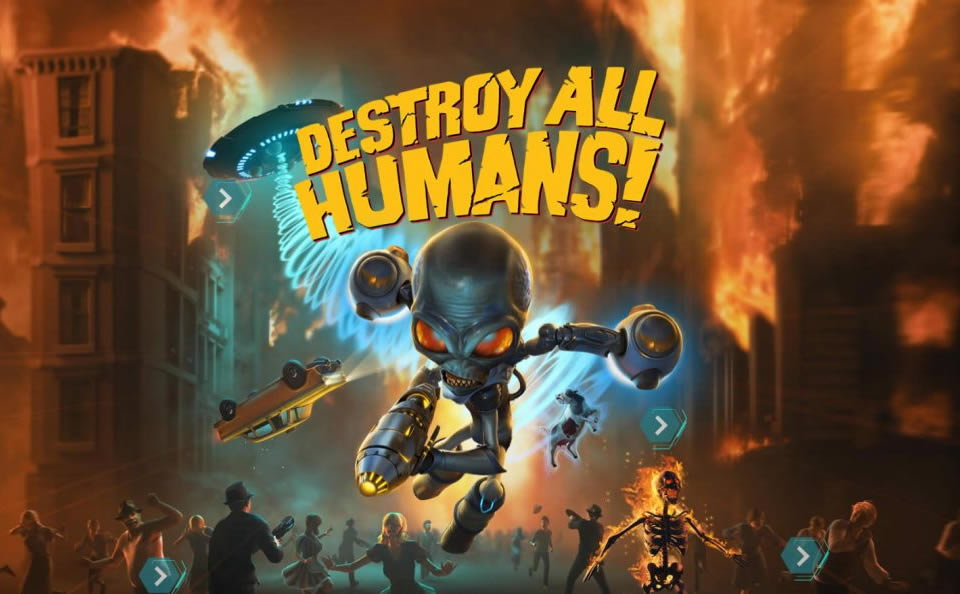 Destroy All Humans Update 1.08 - Patch Notes on March 5th